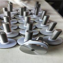 新云 生产不锈钢实心广告钉固定装饰五金 实心广告钉玻璃装饰螺丝钉