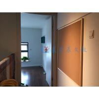 江门挂式公告板Y汕头单面彩色水松板O惠州软木板照片墙定制