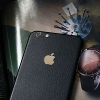 苹果7皮纹膜iphone7 plus手机贴纸 6,6S Plus 彩膜全包保护后膜