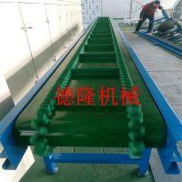 皮带运输机输送带爬坡输送机装车卸货耐高温输送设备