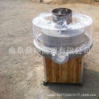 湖南长沙多功能芝麻酱电动石磨机 商用型花生酱石磨机 香油石磨机