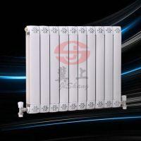 冀上铜铝复合暖气片 板式采暖散热器 底进底出暖气片