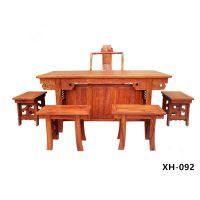 孟村老榆木古典中式功夫茶台生产厂家