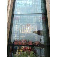 德普龙牌订制45度角拼装极简风格铝窗花-铝单板指定加工厂