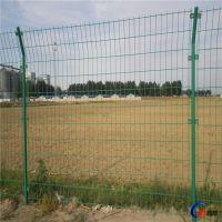 通透式耐腐蚀 蔬菜大棚护栏网 农场围栏网 双边丝护栏网 可定制