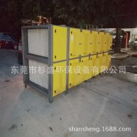 定型机废气治理、定型机VOC废气处理、等离子废气处理设备