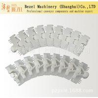供应103型齿形链 BZ-R103柔性平顶链 POM塑料链板线 加工定制