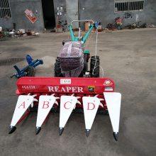 自走式秸秆作物收割机 手扶式新型苜蓿收割机 乐民牌