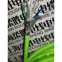 柔胜牌高柔拖链专用网线 防水拖链电缆型号PVC带屏蔽抗干扰网线