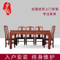 东阳红木家具城 红木餐桌 红木沙发图片及价格 花梨木鉴别 缅甸花梨木的特点 年年红红木家具