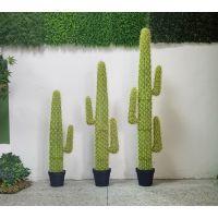 仿真塑料仙人掌盆栽仿真仙人柱绿植盆景北欧室内大型装饰品摆件