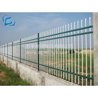 【万宇丝网】厂家直销锌钢护栏围墙栅栏 小区绿化草坪围栏