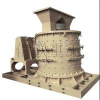 信联重工立式板锤制砂机设备体积小 操作方便