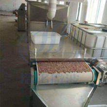 供应浩铭微波HMWB-33SD花生烘烤机 微波炒货机休闲食品厂设备