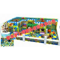 ***新儿童乐园淘气堡充气城堡投影互动幼儿园滑梯厂家直销
