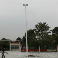 佛山校园篮球场LED灯具安装 乡村球场灯杆尺寸定做 柏克灯光照明效果设计