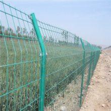 种植基地隔离网 围山铁丝防护网 绿色护栏网厂家
