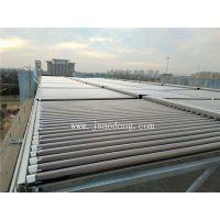 扬州晶樱光电员工宿舍楼太阳能加2台5匹奥栋空气能热水系统