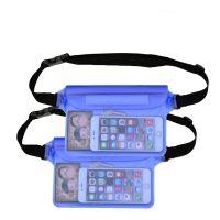 漂流游泳潜水超大手机防水袋PVC腰包漂流袋相机套收纳袋