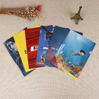 广州厂家定做批发A4透明资料档案袋、PP塑料按扣文件袋定制LOGO