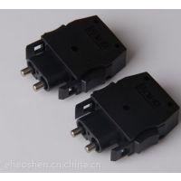 三菱H-PCF型屋内光缆AS-2P-M-B光纤线plc线缆DL-72 光纤连接器
