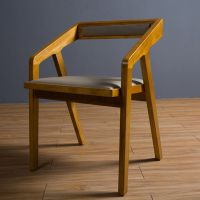 简约现代西餐厅椅_水曲柳实木椅子_厂家定做直销-海德利
