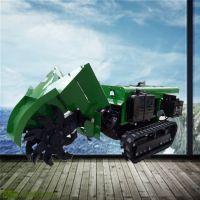 自走式软硬土质开沟机 启航农用犁地除草机价格 农用小型开沟机