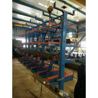 伸缩悬臂式货架靠什么动力来进行货物储存的正耀机械