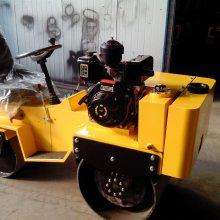 天华 T03座驾式路面液压振动压路机 柴油小型双钢轮沥青道路震动压实机