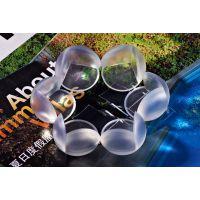 贝得力支持oem儿童安全防护用品 桌脚防撞护角透明防撞角 球型玻璃包角