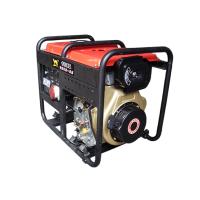 KB-D12000E卡滨9KVA双压一体柴油发电机凯马柴油195F动力、电动带轮扶手(380V/22