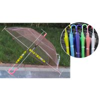 加工定制透明伞广告伞、透明伞面雨伞、半透明直杆伞