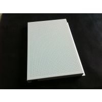 东风日产启辰展厅1.0mm白色镀锌钢吊顶