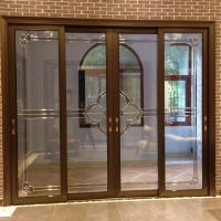 佛山美多裕门窗供应铝合金门窗 定制新款欧式推拉门 隔音防水