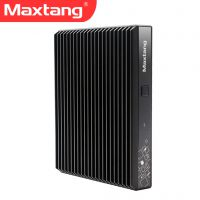 Maxtang大唐X1L迷你电脑主机 无风扇微型台式机 双网口嵌入式工业计算机办公电脑
