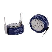 超级电容5.5V 0.33F智能水表电表气表H型扣式电容叠片电容