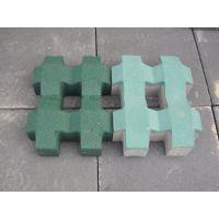 河北爱尔草坪砖优质井字植草砖普通混凝土实心砌块