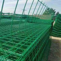 济宁现货双边丝护栏网 折弯加强防护护栏网 浸塑焊接隔离栅