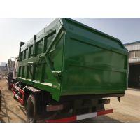 电动卸泥斗对接污泥车价格-15立方15吨污泥密封自卸车价格