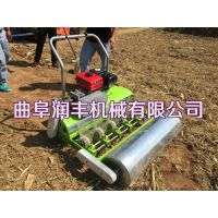 白菜播种机 2-8行生菜精量播种机 润丰汽油自走式精播机