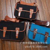 韩国哈特单反摄影包适用于尼康 佳能单反相机包 帆布时尚单反包