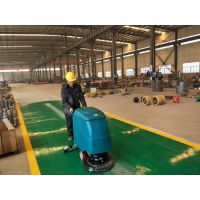 小型洗地机用在环氧地坪上可以吗?合美洗地机