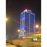 山西太原榆次忻州长治建筑外墙灯光亮化的主要形式和灯具选型及建筑外墙各个部位亮化设计