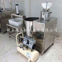 甘肃全自动不锈钢豆腐机 制造花生豆腐机 营养美味豆浆生产设备