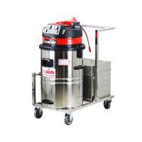 威德尔电瓶式工业吸尘器WD-60车间仓库吸粉尘铁屑专用手推式吸尘器