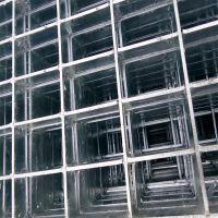青岛Q235钢格栅板洗车格栅板踏步板热镀锌钢格板平台板