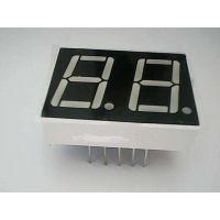 广东数码管厂家 /0.39英寸 共阳红光 19.9*12.8*7mm/数码管引脚图/可加工开模定做