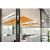 意大利SLALOM现代办公区隔音板屏风隔断品牌