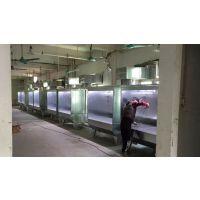 1.2米水帘柜 工业除尘喷漆柜 硅胶外壳喷油柜 锋易盛厂家
