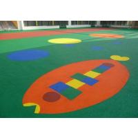 供应幼儿园安全地垫 户外小区橡胶地板室外安全地垫厂家直销